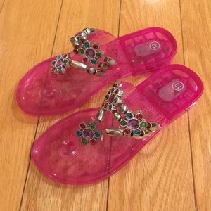 Other - Girls Beaded Sandals